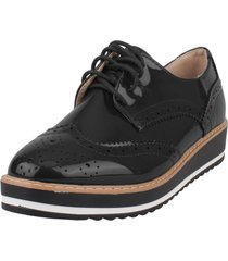zapato oxford evoleth negro weide