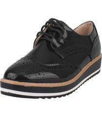zapato oxford evoleth negro weide