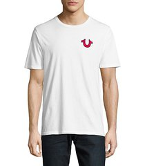 buddha logo cotton t-shirt