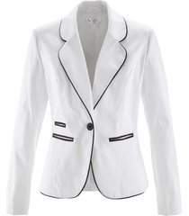 blazer elasticizzato (bianco) - bpc selection