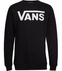 top mens alpha sweat-shirt trui zwart vans