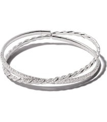 david yurman flexible double row bracelet - 8wadi