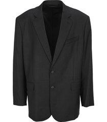 balenciaga single breasted blazer
