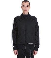 mastermind world sweatshirt in black polyester