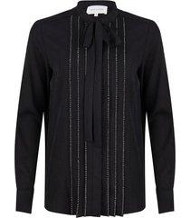 blouse met strass steentjes