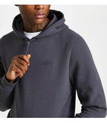 river island mens grey ri slim fit hoodie