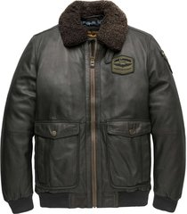 bomber jacket greenville fur peat