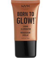 nyx professional makeup born to glow liquid illuminator, 0.6-oz.