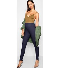 maternity basic denim look jegging, mid blue