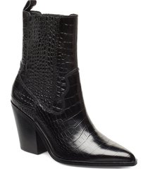 drerissa shoes boots ankle boots ankle boots with heel svart aldo