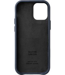 native union clic classic iphone case - blue - iphone 12/12 pro