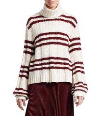zaira striped sweater
