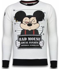 sweater local fanatic bad mouse rhinestone