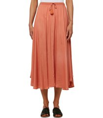 o'neill juniors' samoa drawstring midi skirt