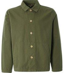 armor lux heritage fishermans jacket | fern khaki | 72932-gxd