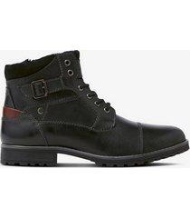 Black biker boots Pearl detail  Bianco  Jodhpurs