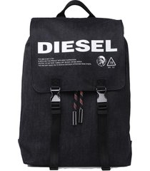mochila volpago back backpack negro diesel