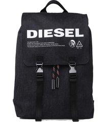 mochila volpago back backpack negro diesel