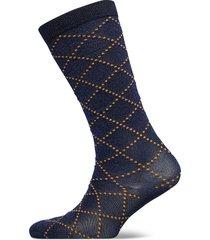duca love w. lingerie socks regular socks blå becksöndergaard