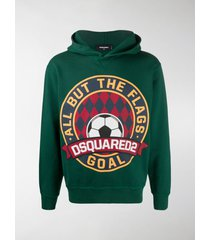 dsquared2 graphic-print hoodie