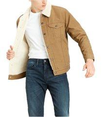 levi's men's big and tall sherpa trucker jacket