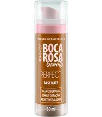 base líquida matte hd 30ml 6 juliana - boca rosa beauty by payot único