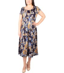 ny collection petite printed dress