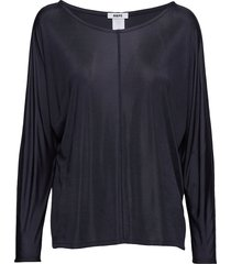 luna top t-shirts & tops long-sleeved blauw hope