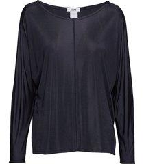 luna top t-shirts & tops long-sleeved blauw hope