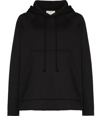 song for the mute bicyclette oversized hoodie - black