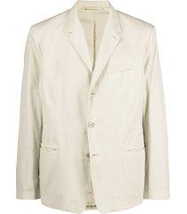 lemaire loose cotton blazer - neutrals