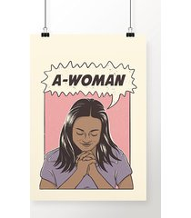 poster a-woman