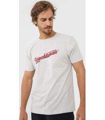 camiseta yachtsman atlantic regatta cinza