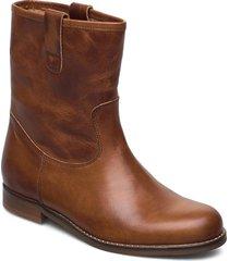 flori shoes boots ankle boots ankle boot - flat brun re:designed est 2003