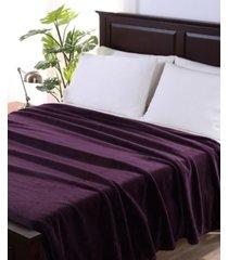 berkshire blanket & home co. textured braid velvetloft full/queen blanket bedding