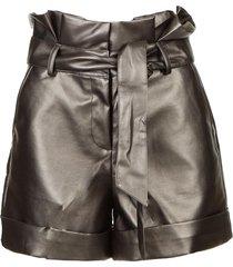 paperbag shorts durham  zilver