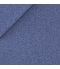 pantaloni da uomo su misura, vitale barberis canonico, flanella blu ceruleo natural stretch, autunno inverno