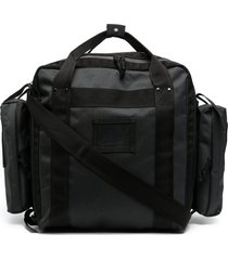 junya watanabe man multi-pocket backpack - black