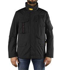 parajumpers denali spring black jacket
