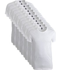 alan red 12-pack t-shirts james grote ronde hals wit