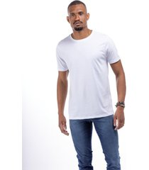 t-shirt masculina aries gold branca