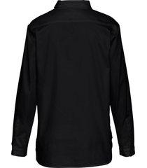 blouse van peter hahn zwart