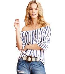 blusa adulto mp  para mujer -etampado rayas
