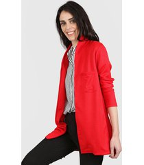 blazer rojo nylon