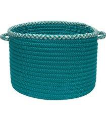 colonial mills houndstooth bright edge braided storage basket