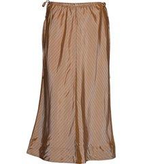 azolla knälång kjol brun tiger of sweden