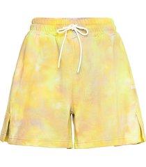 bermuda/short shorts flowy shorts/casual shorts geel msgm