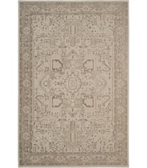 safavieh essence natural and taupe 4' x 6' sisal weave area rug