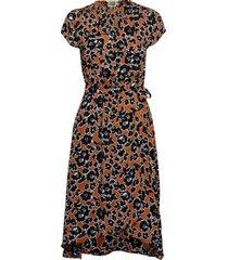 hilma dress knälång klänning brun twist & tango