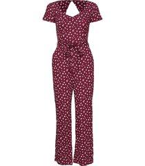 dress jumpsuit röd hollister